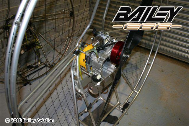bailey aviation egg motor project  honda gx  stroke paramotor paramotor news