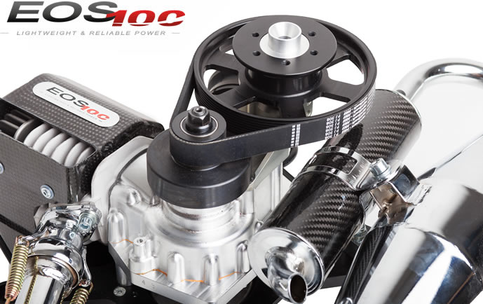 Eos 100 Paramotor Engine For Ppg With 50kg Thrust